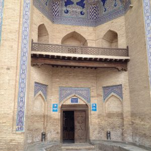 Uzbekistan: Khiva our hotel Orient Star is a former 19th century