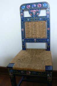 Portugal, Estremoz: hand painted furniture design