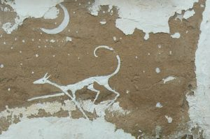 Portugal, Mertola: wall painting (date unknown)