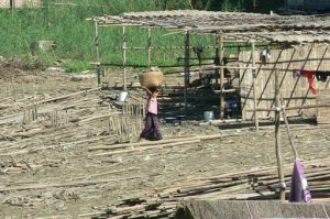 Burma, Mandalay: local village life